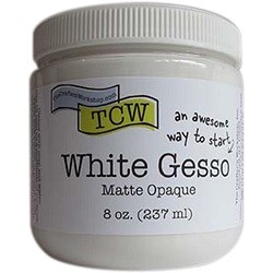 The Crafter's Workshop - White Gesso 8 oz.