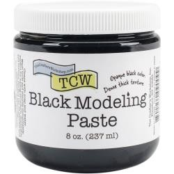 The Crafter's Workshop - Black Modeling Paste 8 oz.