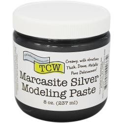 The Crafter's Workshop - Marcasite Silver Modeling Paste 8 oz.
