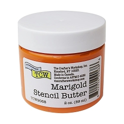 The Crafter's Workshop - Marigold Stencil Butter 2 oz.