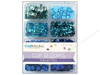Craft Medley - Sequins - Rhythm 'n Blues Assortment (7mm)