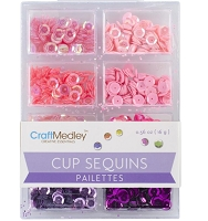 Craft Medley - Sequins - Princess Assortment (7mm)