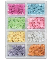 Craft Medley - Sequins - Baby Assortment (7mm)