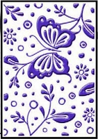 Crafts Too-Dutch Embossing Folder-Spring (A2 size)