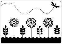 Crafts Too - Embossing Folder - Spring Garden