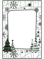 Let It Snow embossing folder CTFD3072 Crafts Too Christmas embossing folders