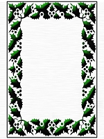 Crafts Too - Embossing Folder - Berry Frame