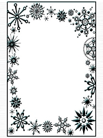 Crafts Too - Embossing Folder - Frost Frame