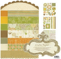 Crate Paper-Lemon Grass-Collection Kit