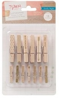 Crate Paper - The Pier - Wooden Clothes Pins