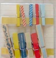 Crate Paper - Story Teller - Clothes Pins
