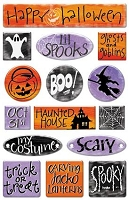 Creative Imaginations - By Teri Martin - Ghosts & Goblins Epoxy Sticker