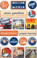 Creative Imaginations - Epoxy Stickers - Lionel - Classic Lionel
