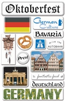 Creative Imaginations - Art Warehouse by Danelle Johnson - Epoxy stickers - Germany