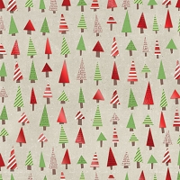 Creative Imaginations - Art Warehouse by Danelle Johnson - 12X12 Foil Paper - Trees