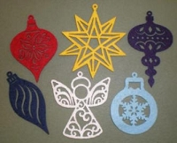 Creative Impressions Felt Die Cuts - Ornaments