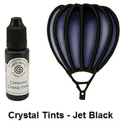 Creative Expressions - Cosmic Shimmer Colorful Crystal Tints - Jet Black