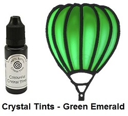 Creative Expressions - Cosmic Shimmer Colorful Crystal Tints - Green Emerald