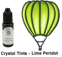 Creative Expressions - Cosmic Shimmer Colorful Crystal Tints - Lime Peridot