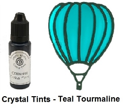 Creative Expressions - Cosmic Shimmer Colorful Crystal Tints - Teal Tourmaline