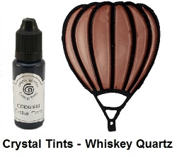 Creative Expressions - Cosmic Shimmer Colorful Crystal Tints - Whisky Quartz