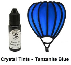 Creative Expressions - Cosmic Shimmer Colorful Crystal Tints - Tanzanite Blue