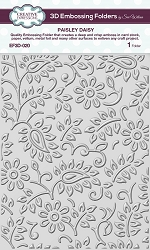 Creative Expressions - 3D Embossing Folder - Paisley Daisy (5.75