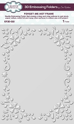 Creative Expressions - 3D Embossing Folder - Foreget-Me-Not Frame (5.75