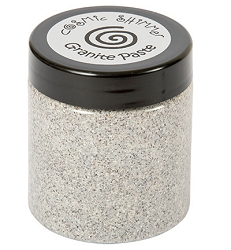 Creative Expressions - Cosmic Shimmer Granite Paste - Bianco Silver