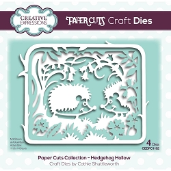 Creative Expressions - Die - Paper Cuts Hedgehog Hollow