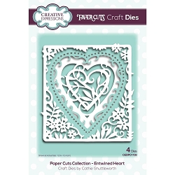 Creative Expressions - Die - Paper Cuts Entwined Heart