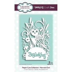Creative Expressions - Die - Paper Cuts Harvest Owl