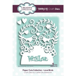 Creative Expressions - Die - Paper Cuts Love Birds