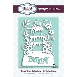 Creative Expressions - Die - Paper Cuts Birthday Cake