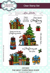 Creative Expressions - Clear Stamp - Best Christmas Ever by Lisa Horton
