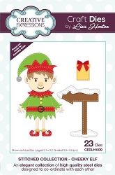 Creative Expressions - Die - Stitched Collection by Lisa Horton - Cheeky Elf