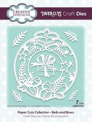 Creative Expressions - Die - Paper Cuts Collection Bells & Bows