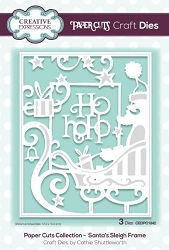 Creative Expressions - Die - Paper Cuts Collection Santa's Sleigh Frame