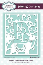 Creative Expressions - Die - Paper Cuts Collection Noel Frame