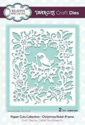 Creative Expressions - Die - Paper Cuts Collection Christmas Robin Frame