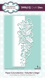 Creative Expressions - Die - Paper Cuts Collection Holly Berry Edger