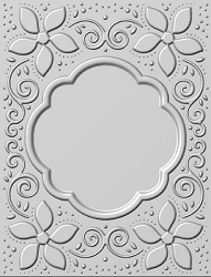 Sue Wilson Designs - 3D Embossing Folder - Natalie's Poinsettias (5.75