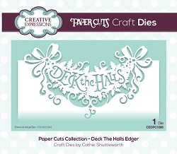 Creative Expressions - Die - Paper Cuts Collection Deck The Halls Edger