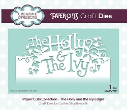 Creative Expressions - Die - Paper Cuts Collection The Holly and the Ivy Edger