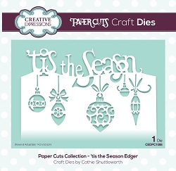 Creative Expressions - Die - Paper Cuts Collection 'Tis the Season Edger