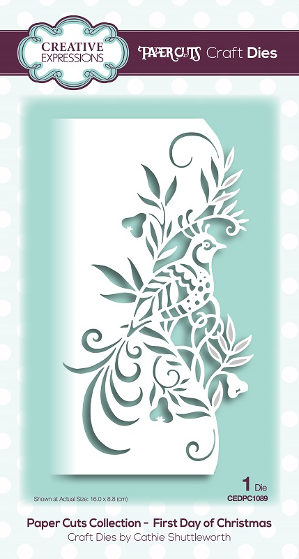 Christmas Expressions.Creative Expressions Die Paper Cuts Collection First Day Of Christmas