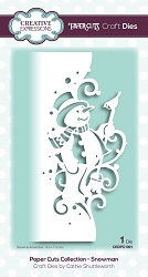 Creative Expressions - Die - Paper Cuts Collection Snowman