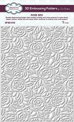 Creative Expressions - 3D Embossing Folder - Rose Bed (5.75