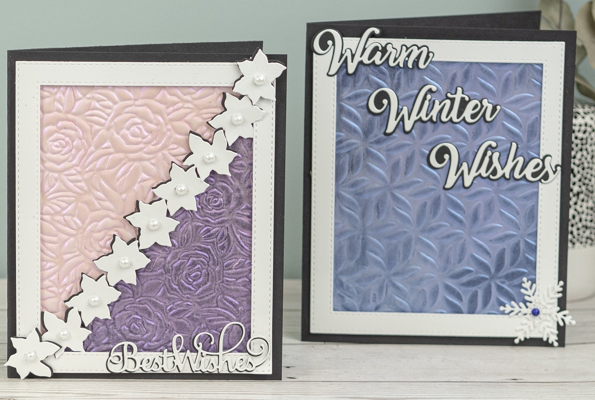 Creative Expressions - 6 new 3D embossing folders