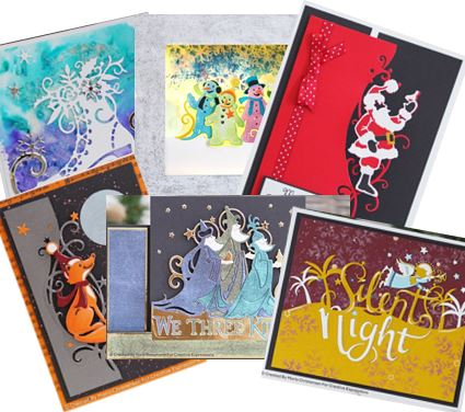 Creative Expressions - 13 Christmas Paper Cuts edger dies